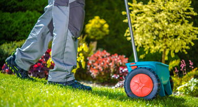 Lawn Fertiliser Services
